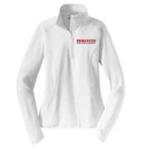 Sport-Tek Sport-Wick Womens Stretch 1/2 Zip Pullover