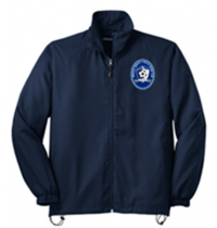 San Mar/Sport-Tek Full-Zip Wind Jacket