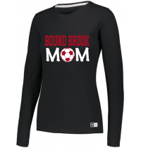 "Bound Brook Essential Long Sleeve Tee ""BB Mom"""
