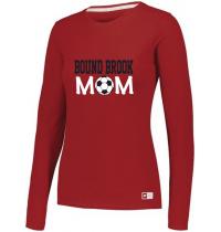 "Bound Brook Essential Long Sleeve Tee ""BB Mom"""