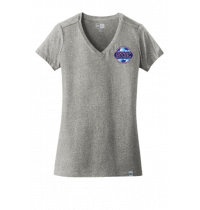 New Era Ladies Heritage Blend V-Neck