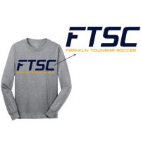 Port & Co. Core LS Cotton Tee FTSC Fan Wear