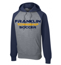 Sport-Tek Raglan Colorblock Pullover Hooded Sweatshirt