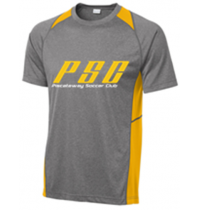 San Mar/Sport-Tek Heather Colorblock Contender Tee PSC