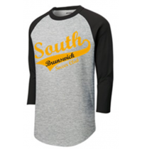 Sport-Tek Colorblock Raglan 3/4 shirt
