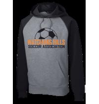 Sport-Tek Raglan Colorblock Pullover Hooded Sweatshirt WHSAFW